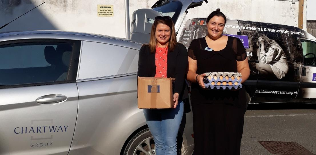 Chartway Group brings homeless the bacon