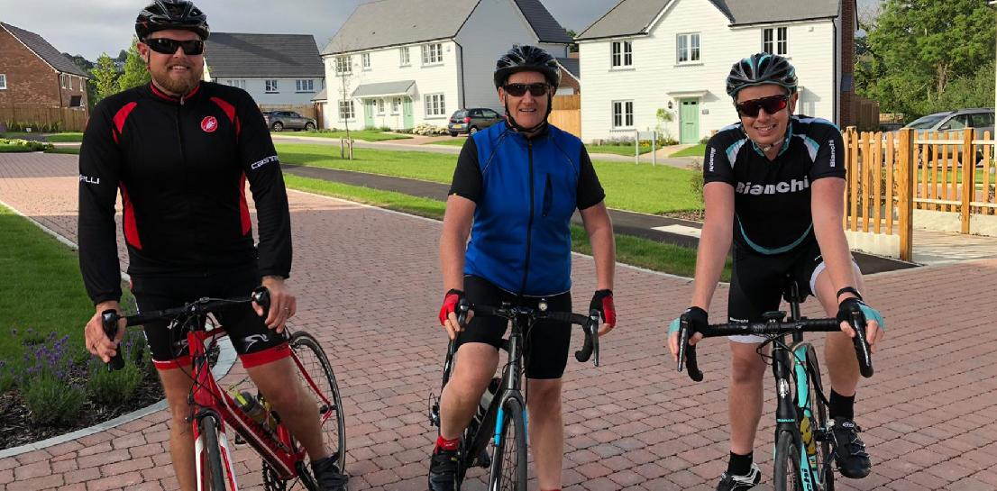 Team Chartway join the Sharratts to Paris Cycle Ride in aid of SCOPE.