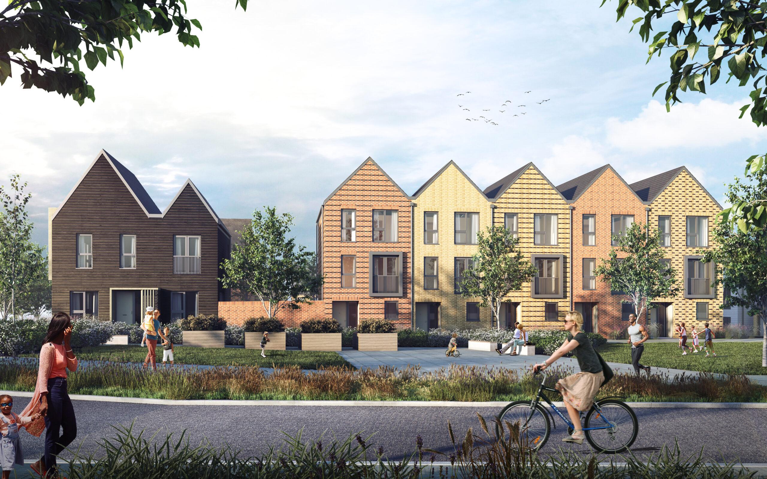 Let's talk about our latest new homes development Alkerden Gateway, a unique custom build at Ebbsfleet Garden City.