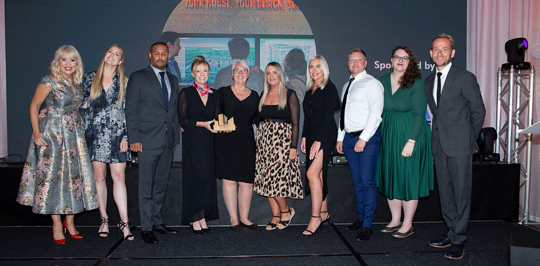 We are celebrating First Time Buyer Magazine Awards with Highly Commended for Best Partnership at Forstal Mead, Coxheath